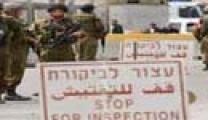 528 حاجزا عسكريا صهيونيا في الضفة الغربية