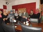 رأفت حمدونة واعلاميات فلسطينيات