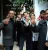 اعتصام أهالى الأسرى فى مقر الصليب الأحمر بقطاع غزة