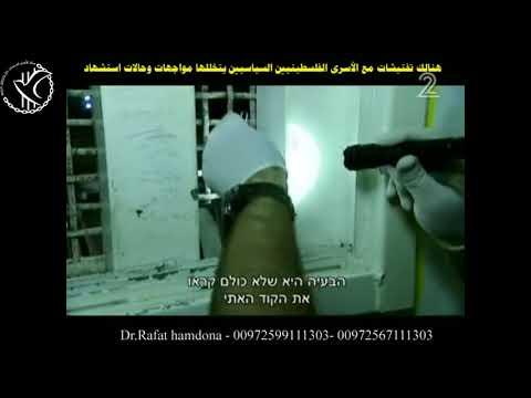 شاهد إحدى عمليات التفتيش الدقيقة فى السجون الاسرائيلية- متابعة د. رأفت حمدونة